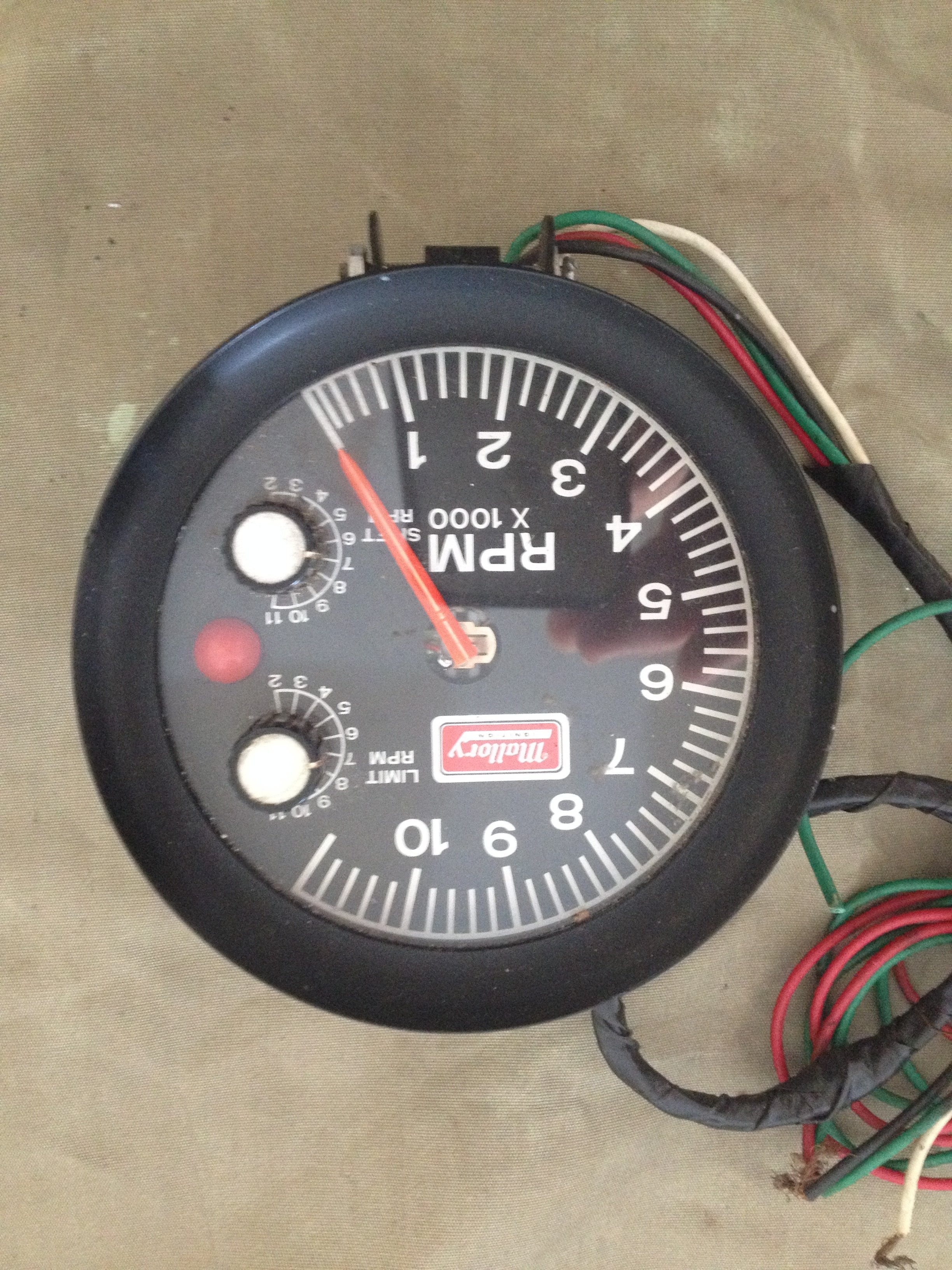 Mallory Tachometer Wiring Diagram Diagrams Marine For Sale 11k Rpm W Adjustable Rev Limititer Rh Forabodiesonly Com Vdo