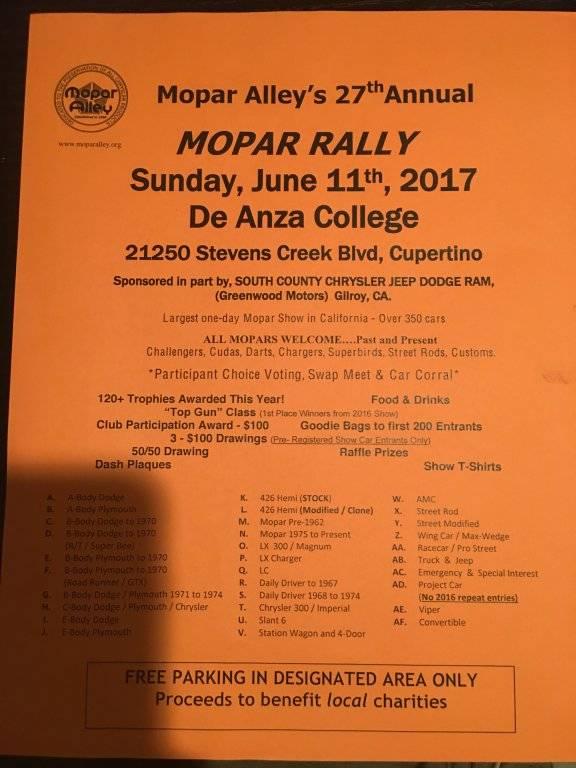 Mopar Alley 27th annual flyer.JPG