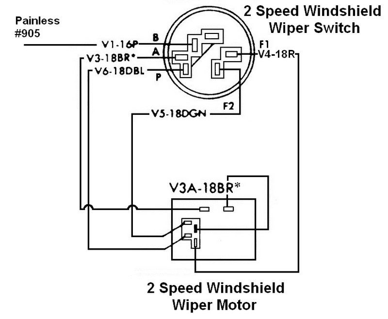 Windsheild Wiper Wiring