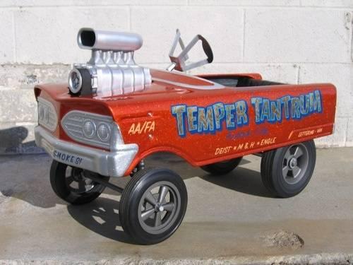 Cool Gasser Pedal Car For A Bodies Only Mopar Forum