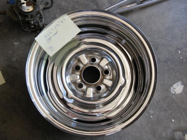 Websites Like Craigslist >> chrome reverse 14x6 sbp steel wheel | For A Bodies Only ...