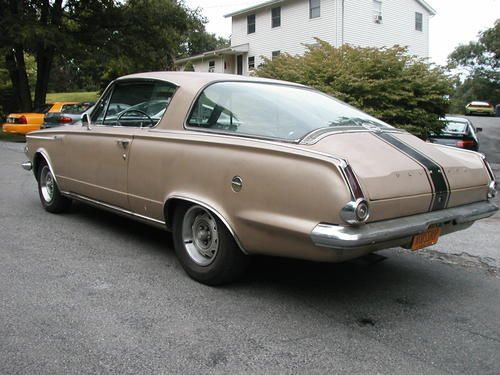Purchase used 1965 Plymouth Formula S Barracuda 4 speed 273 V8 Classic ___.jpg