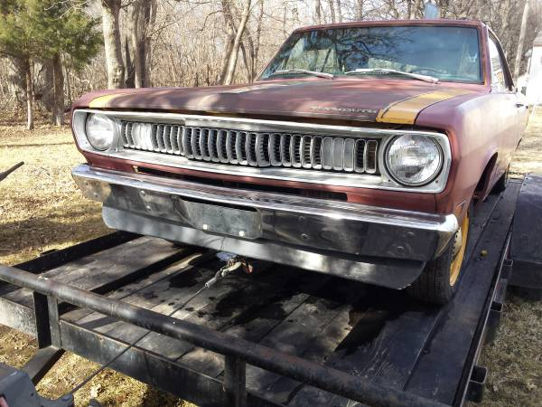 1971 Plymouth Scamp for sale (not mine) Craigslist Tulsa