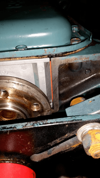 Rear main seal install question    For A Bodies Only Mopar Forum