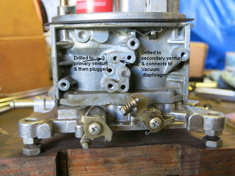 Ported or manifold Vacuum to Dist.   Page 2   For A Bodies