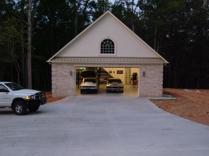 Building a garage cost for a bodies only mopar forum for Cost of building a house in pa