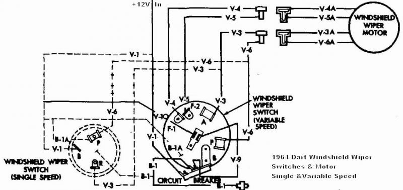 1967 dodge dart wiring diagram
