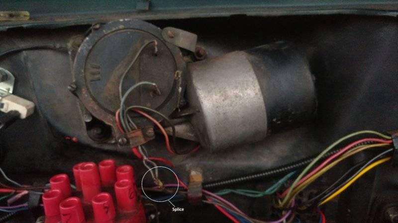 Wiper Motor Wires For A Bodies Only Mopar Forum