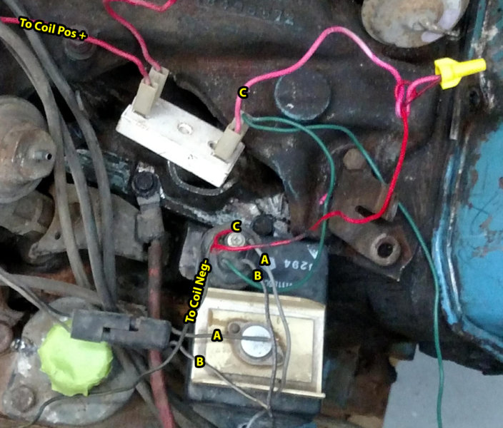 Test Firing a Used Big Block 440 With Old Wiring Harness - Help with Diagram  Please | For A Bodies Only Mopar ForumFor A Bodies Only Mopar Forum