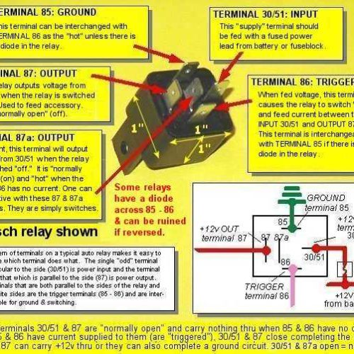 Mopar  Gm Hei Wiring Diagram Using A Bosch Relay